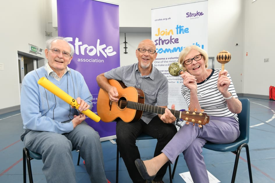 Volunteers needed to help share music to support stroke recovery