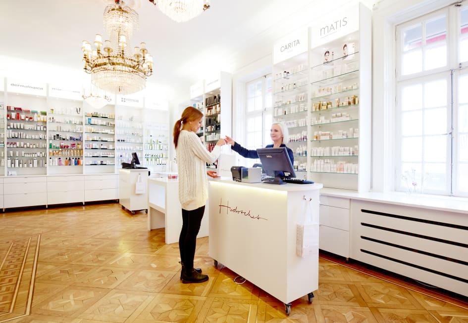 comfort zone hudvård återförsäljare stockholm