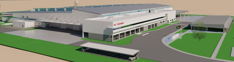 Yanmar Establishes New Industrial Engine Plant in India - Yanmar Co