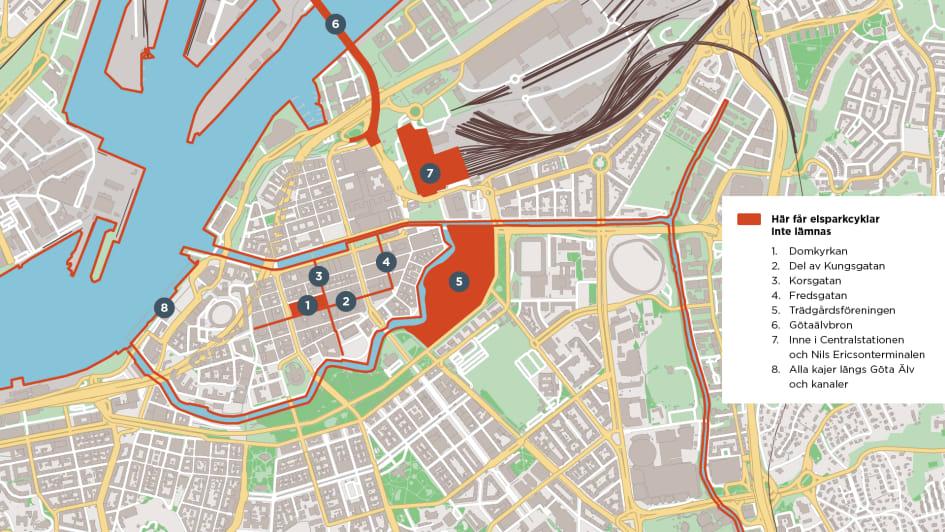 Elsparkcyklarna Regleras I Goteborg Goteborgs Stad