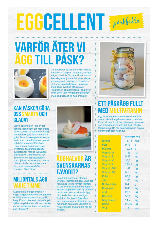 d vitamin ägg