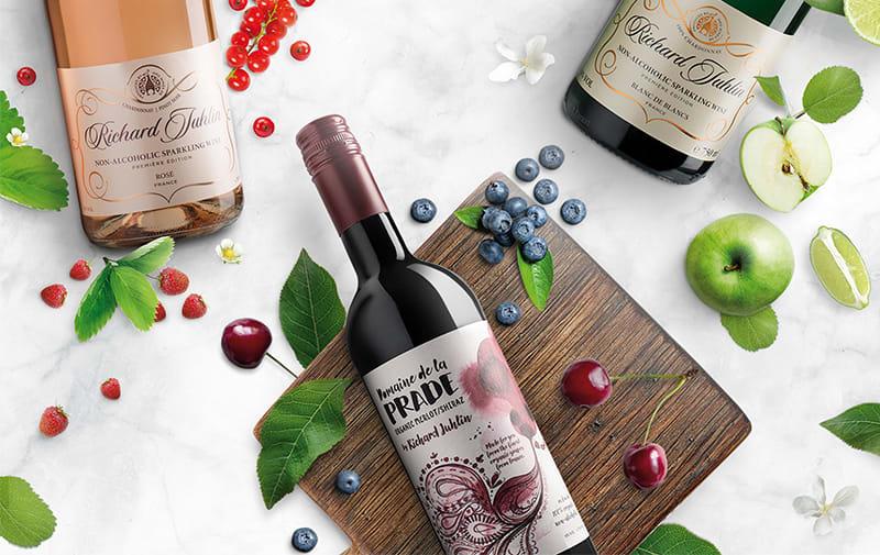 alkoholfritt rött vin