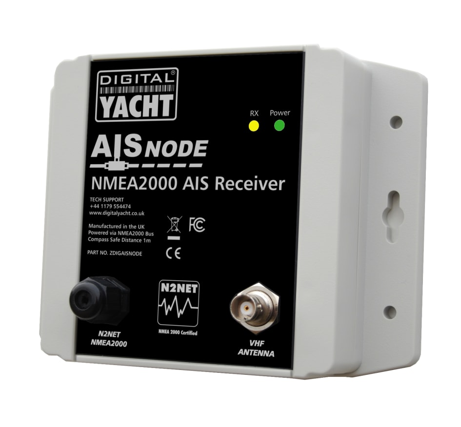New Aisnode Nmea 2000 Ais Receiver From Digital Yacht T Connector Wiring Diagram Many Modern On Board Electronic System Now Utilise The Nmea2000 Interfacing Standard To Allow Inter Connectivity And Between Systems