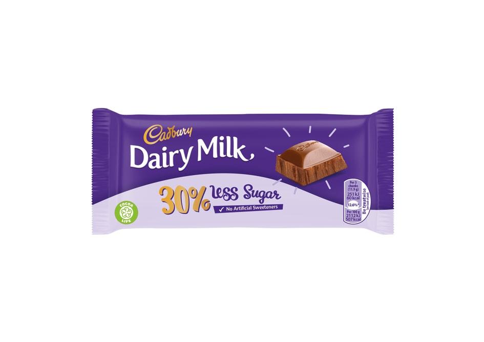 Mondelēz International To Launch 30 Lower Sugar Cadbury