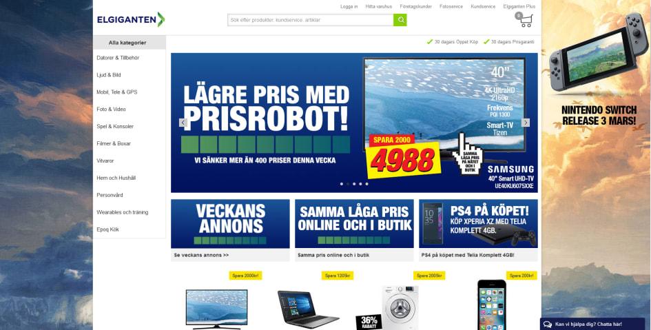elgiganten delbetalning online