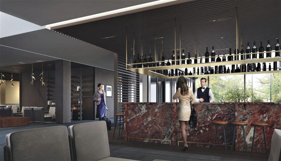 Mercure Hotel Wiesbaden City Baut Lobby Bar Und Restaurant Um