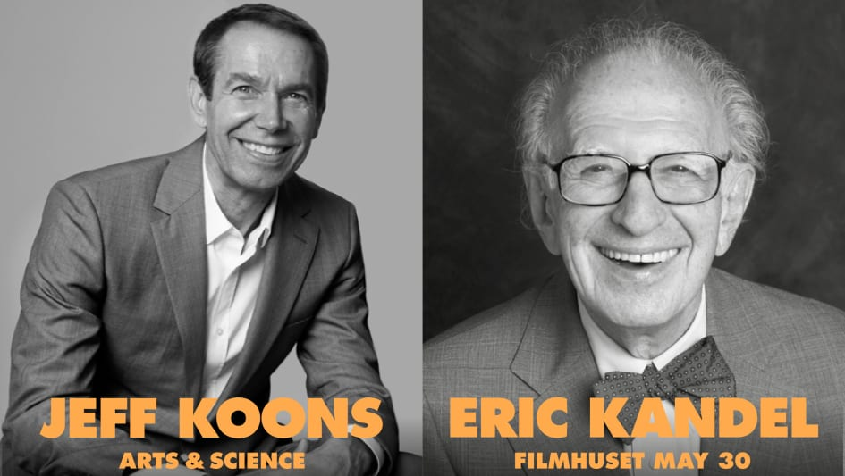 J! Talks: Jeff Koons and Eric Kandel - Konstakademien