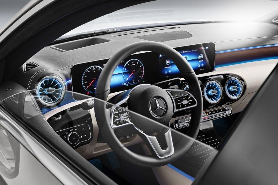 Mercedes Benz A Klasse Sedan Mercedes Benz Personbil