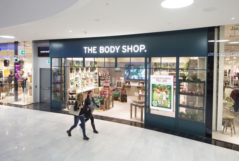 the body shop mall of scandinavia