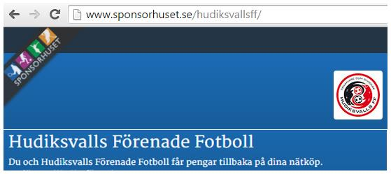 129443bc7553 Bli gratis medlem på Sponsorhuset och få en extra bonus just nu. Det vinner  både du och fotbollen i Hudiksvall på! Brukar du boka eller handla på nätet?