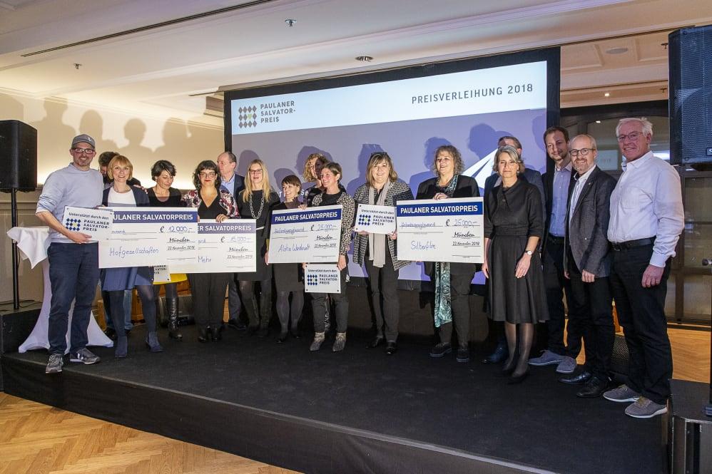 Paulaner Fördert Nachbarschaftsprojekte In München Mit Knapp