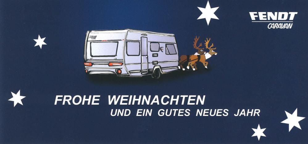 Frohe Weihnachten und ein gutes neues Jahr - Fendt-Caravan GmbH