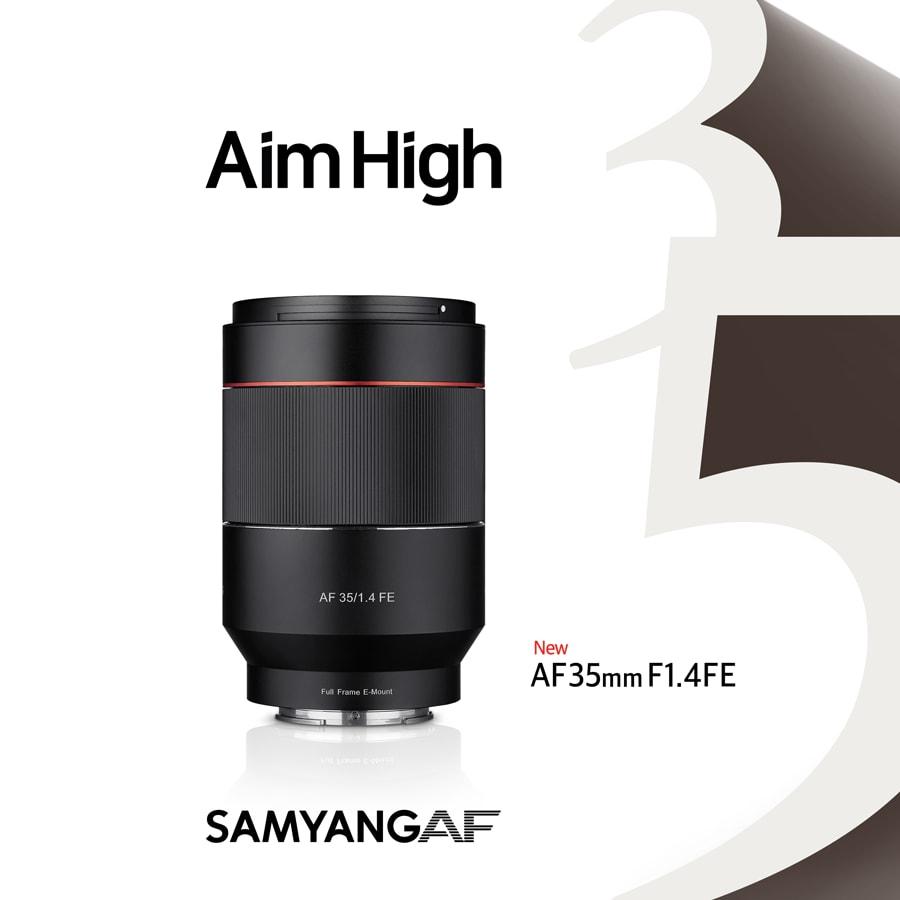 AF 35/1,4 DSLR für Sony E: neues AF Objektiv von SAMYANG ab sofort ...