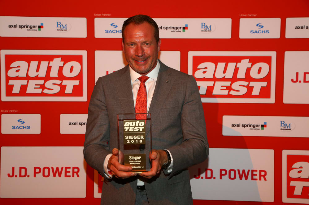 Mitsubishi Space Star Auto Test Sieger Mitsubishi Motors In