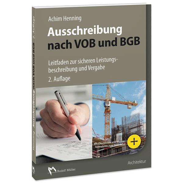 Ausschreibung Nach Vob Und Bgb Presse Rudolf Müller Mediengruppe