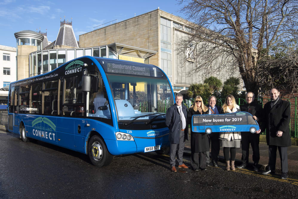 Flagship Sunderland city bus link gets a makeover - Go North East
