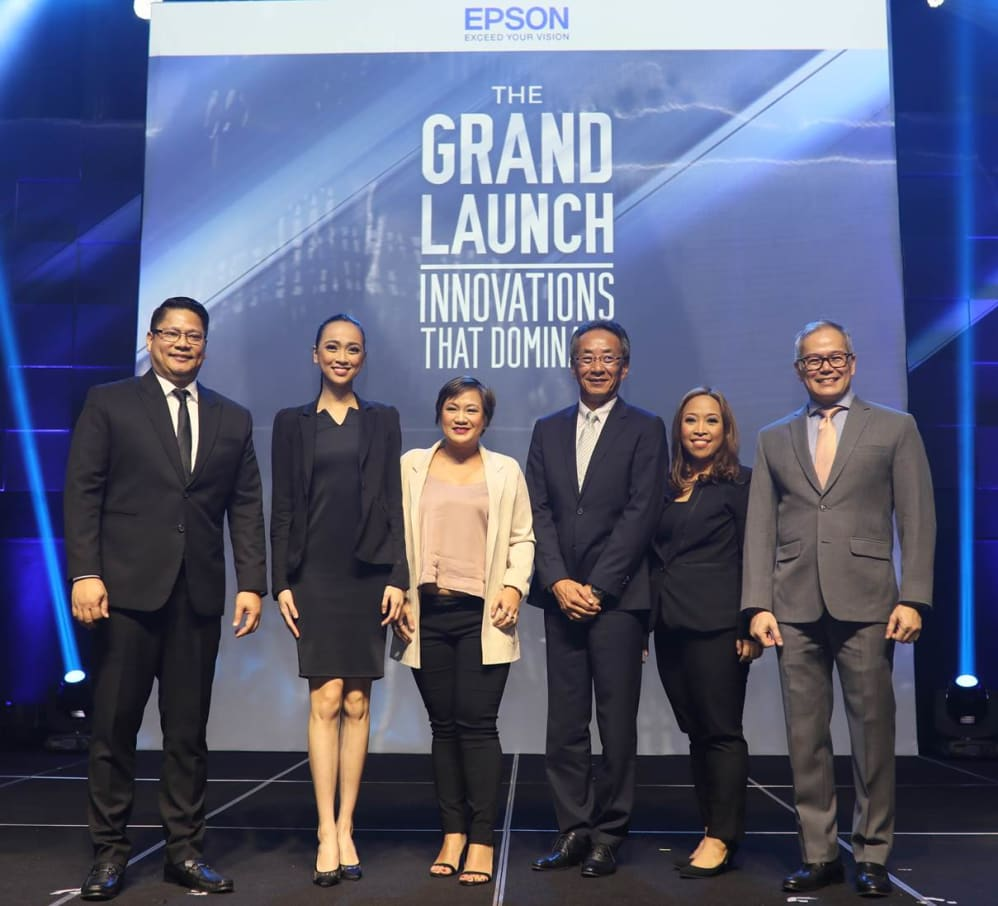 Epson PH unveils Innovations that Dominate - Epson Philippines