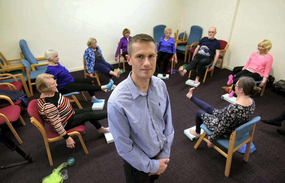 1 4m grant to assess how yoga benefits older people with multiple