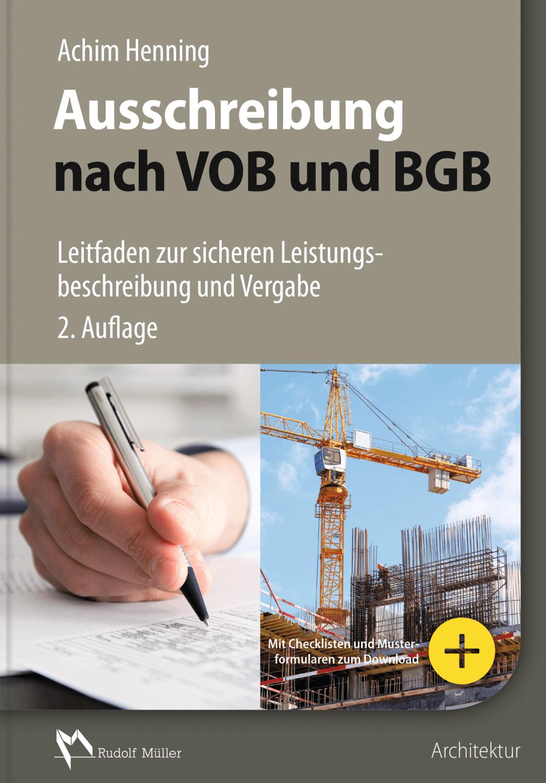 Ausschreibung Nach Vob Und Bgb 2d Tif Presse Rudolf Müller