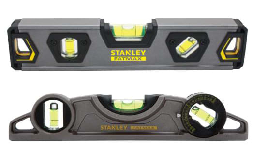 STANLEY® FATMAX® Introduces New Torpedo Levels - STANLEY