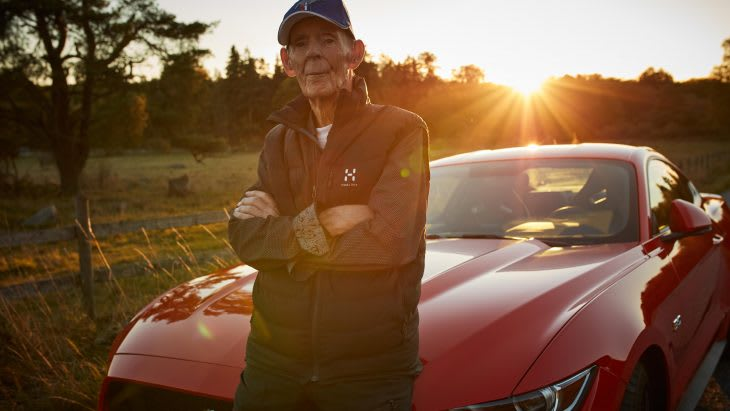 Verdens ældste Mustang-ejer - Ford Motor Company