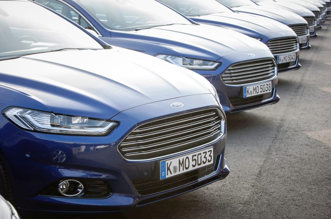 Ford klar med priser p fuldt mondeo motorprogram ford Ford motor company press release