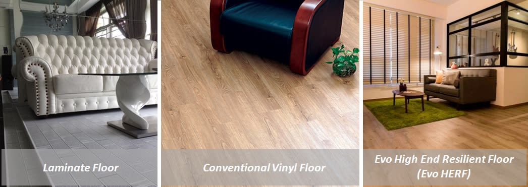 faq high end resilient flooring herf how it differs from evorich flooring. Black Bedroom Furniture Sets. Home Design Ideas