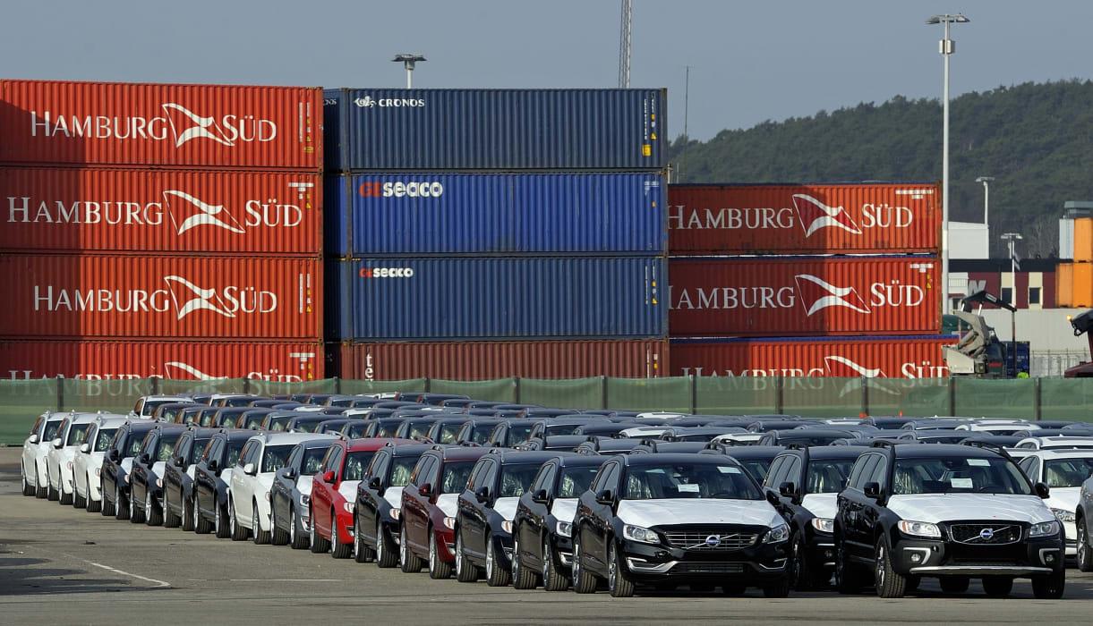 g teborgs hamn ny exporthamn f r volvobilar till ryssland och kina g teborgs hamn. Black Bedroom Furniture Sets. Home Design Ideas
