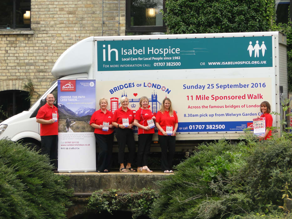 Bridges Of London Charity Walk On Sunday 25th September