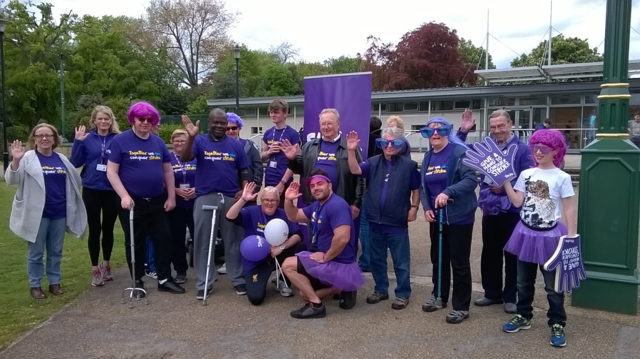 Survivors Conquer Stroke To Raise Vital Funds Stroke Association
