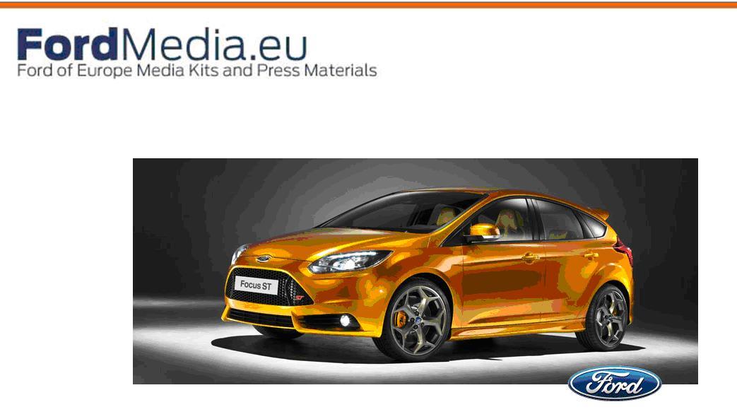 Ford afsl rer flere nye modeller ford motor company Ford motor company press release