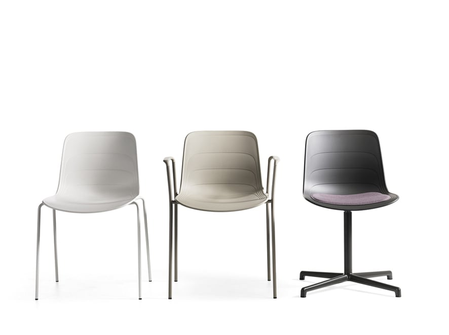 Designföretaget Lammhults premiärvisar stolen Grade på Salone del Lammhults Möbel AB