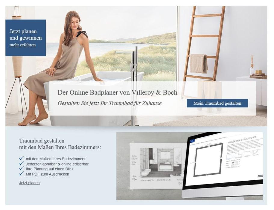 online badplaner villeroy boch. Black Bedroom Furniture Sets. Home Design Ideas