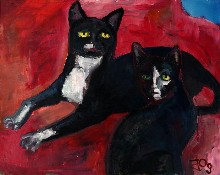 Künstler Katzen