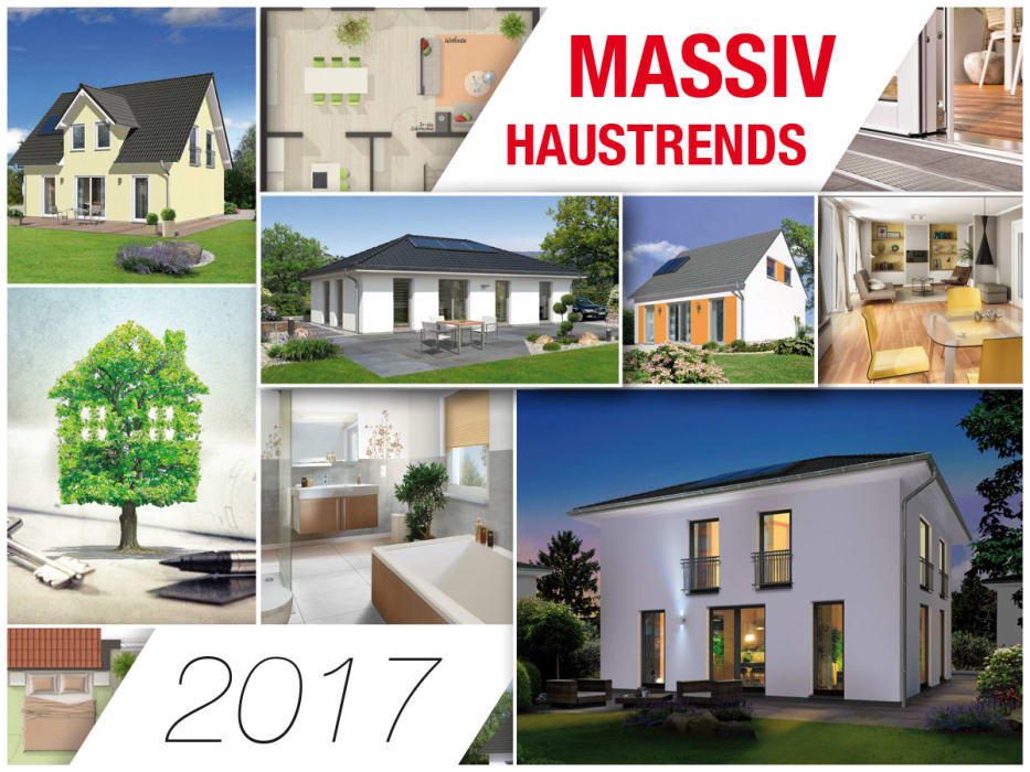 massivhaustrends 2017 town country haus lizenzgeber gmbh. Black Bedroom Furniture Sets. Home Design Ideas