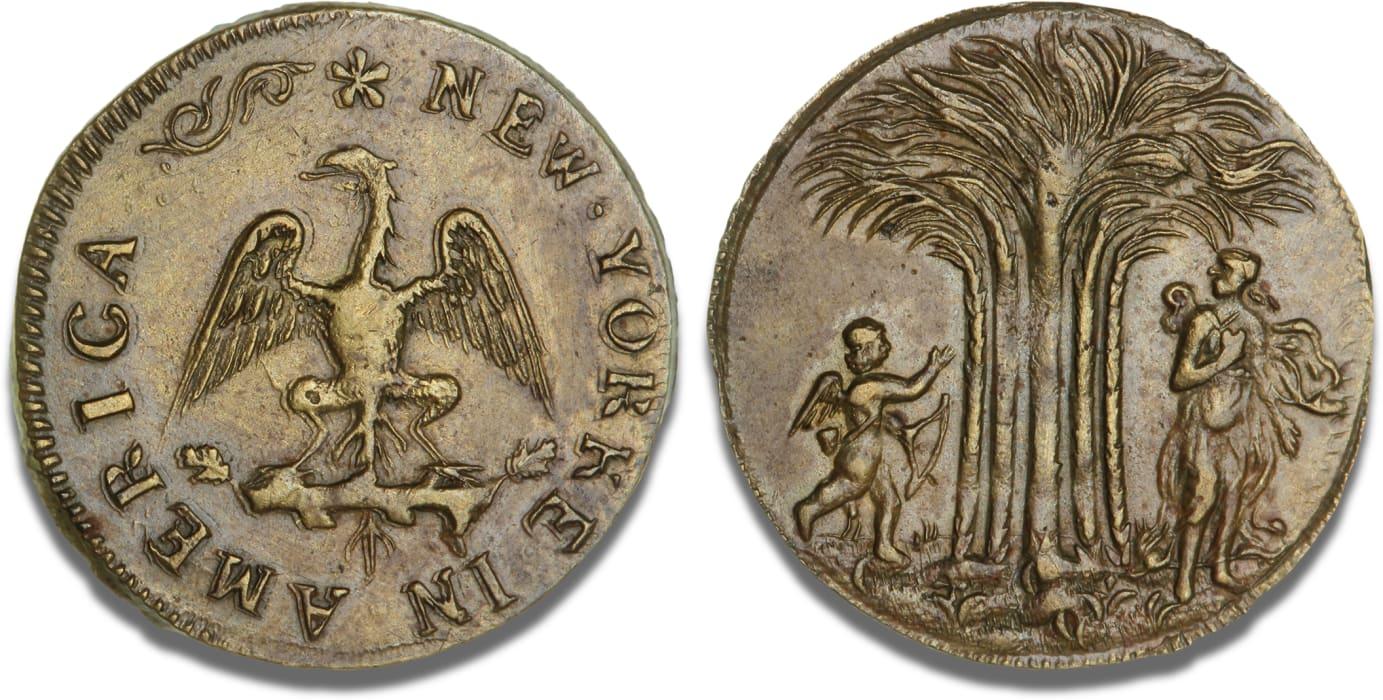 New Yorks ældste mønt på auktion - Bruun Rasmussen Kunstauktioner