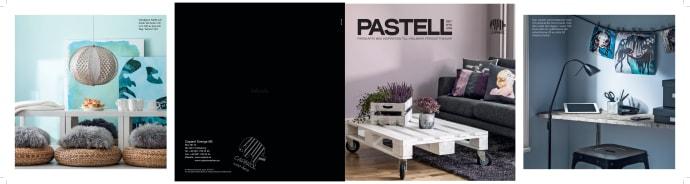 Inredning väggfärg pastell : Caparols färgkarta PASTELL - Caparol Färg