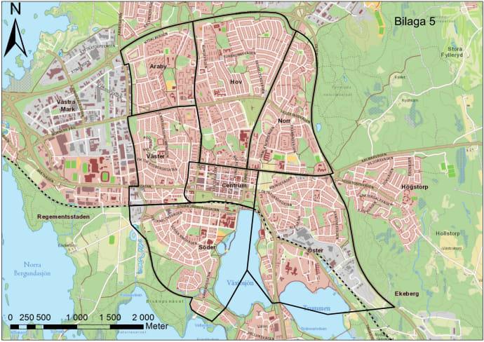 karta växjö