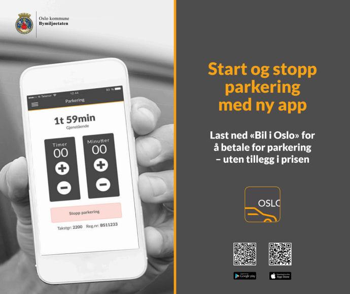 Oslo kommune parkering app