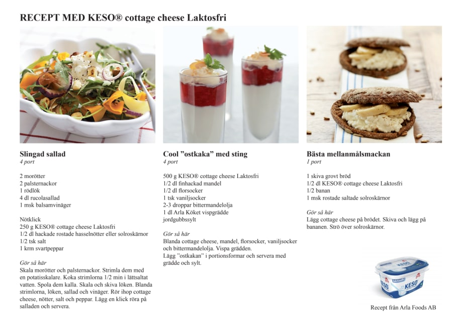 recept med keso cottage cheese
