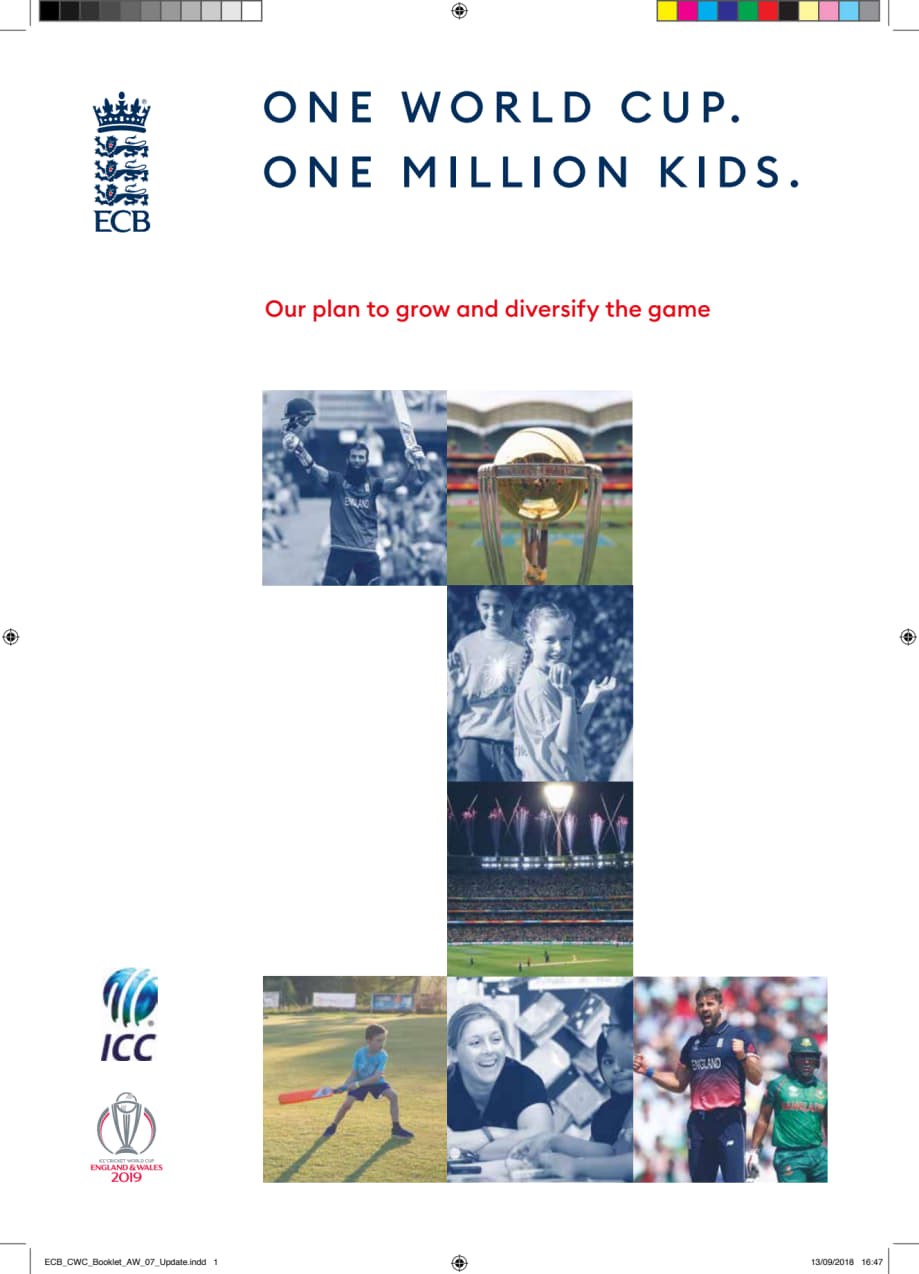 ECB ICC Cricket World Cup Participation Strategy document