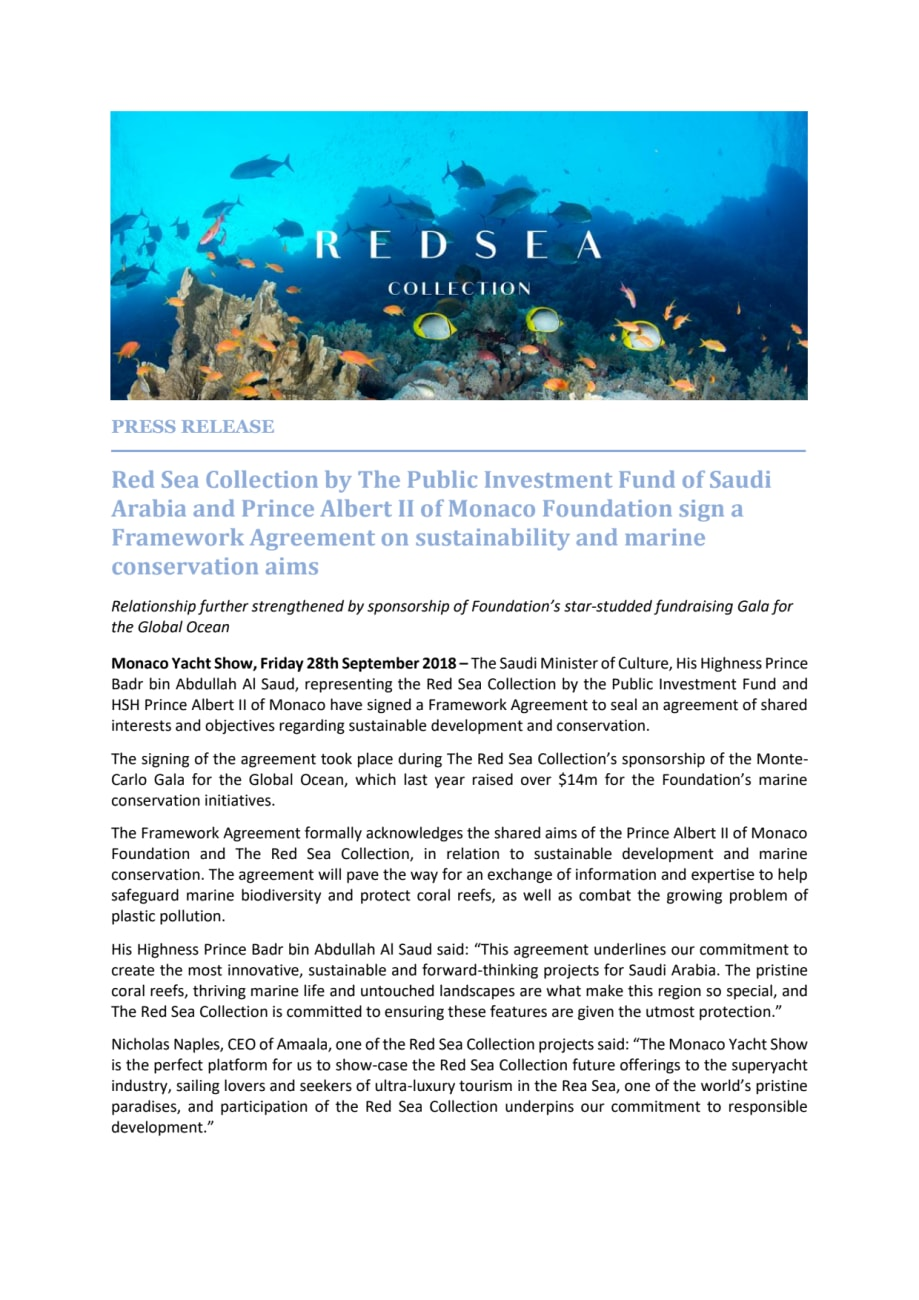Red Sea Collection By The Public Investment Fund Of Saudi Arabia