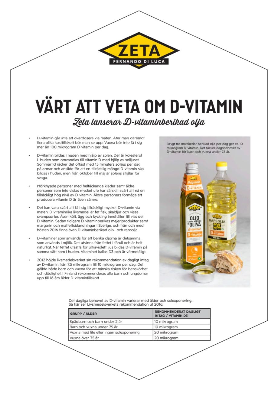 d vitamin kolesterol