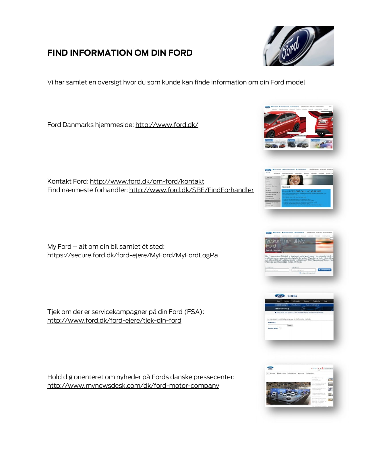 Find information om din ford ford motor company for Ford motor company 10k report
