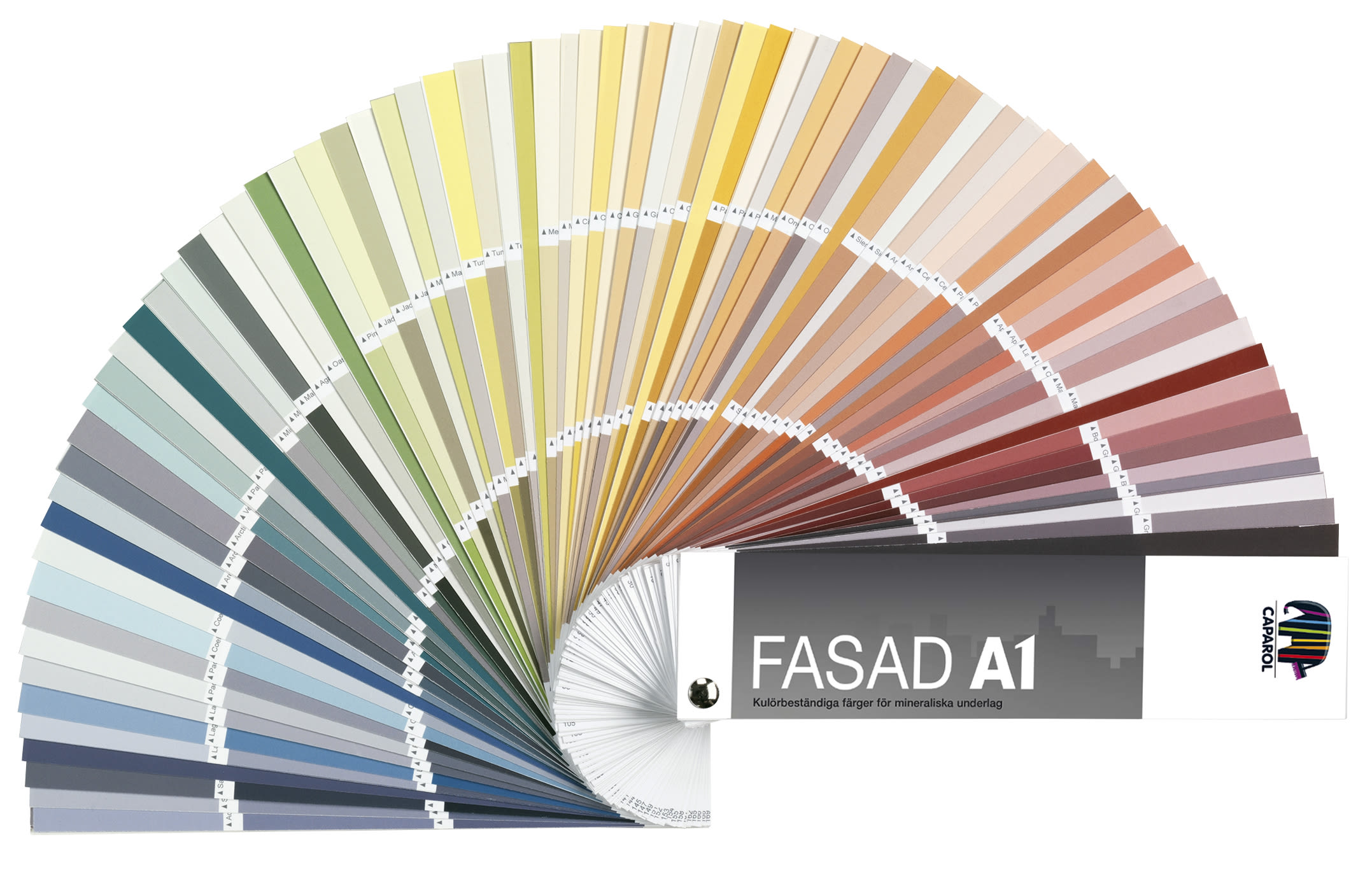 fasad a1 f rgkarta f r putsfasader caparol f rg. Black Bedroom Furniture Sets. Home Design Ideas