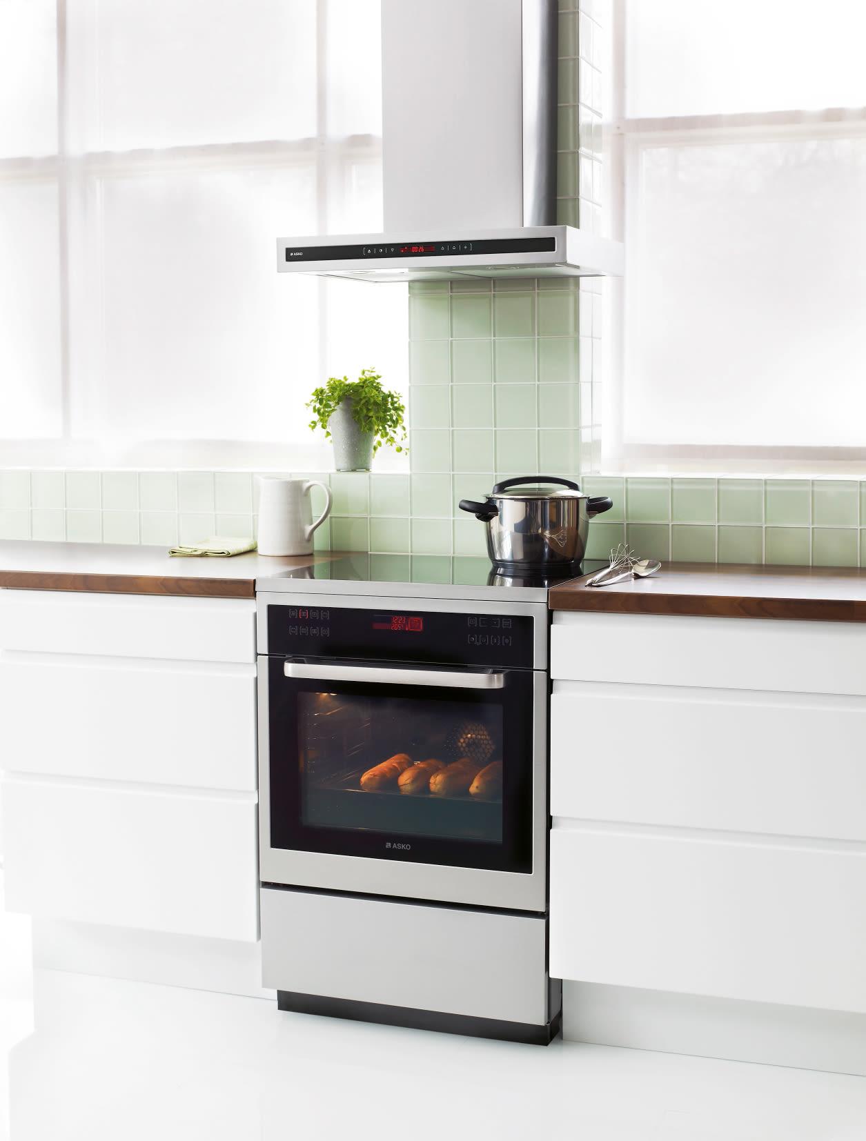 Asko Kok : En ny serie af komfurer fra ASKO giver hjemmets kok perfekt
