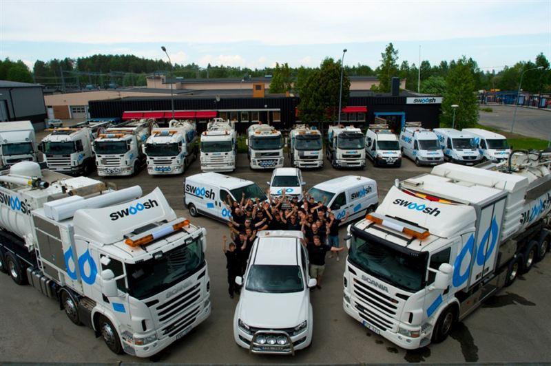 Swoosh - Ett växande miljöföretag som fixar allt från propp till renoverat avlopp