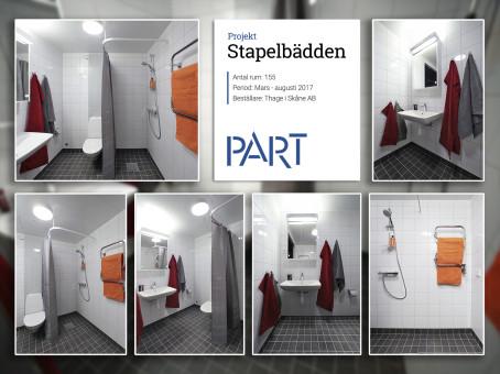 Referensrum Stapelbädden – 155 rum