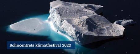Bolincentrets Klimatfestival går online