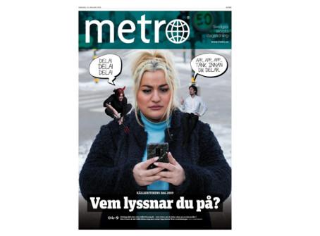Metro bjuder på stort gratisprogram för skolor och allmänheten på Källkritikens dag 13 mars